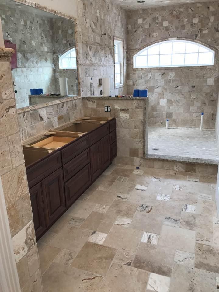 Bathroom Remodel Travertine Tiles Stone Marble Mart