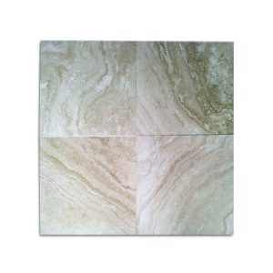 Medium River Honed and Filled Travertine Tiles