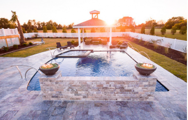 Pool | Travertine | Pavers