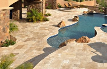 Big Kahuna Travertine | Paver Pool