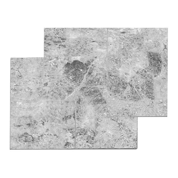 French Pattern Talya Gray Marble Paver